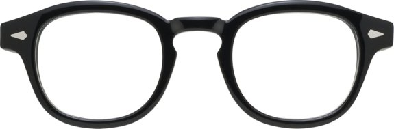 Moscot Originals - Lemtosh [Black]. Features acetate with diamond rivets on front and temples, keyhole bridge and 7-barrel hinges. The most iconic Moscot frame!