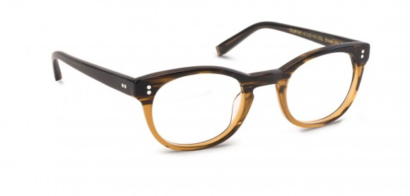 Moscot Originals - Courtney [Brown Ale]. Features soft edges and clean lines on beautifully hued acetate.