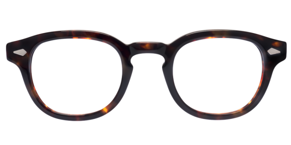Moscot Originals – Lemtosh [Tortoise]. Features acetate with diamond rivets on front and temples, keyhole bridge and 7-barrel hinges. The most iconic Moscot frame!