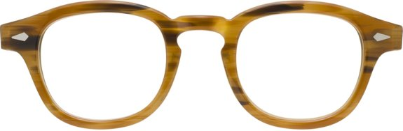 Moscot Originals – Lemtosh [Blonde]. Features acetate with diamond rivets on front and temples, keyhole bridge and 7-barrel hinges. The most iconic Moscot frame!