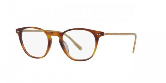 30th Anniversary Special! Oliver Peoples Hanks [OV5316F; Dark Mahogany]. Features new temple design that exposes a feathered pattern core-wire created specifically for the 30th Anniversary, hand-laid functional pins for double adherence between frame front and hinge for additional strength and durability, durable hree-barrel hinge, and custom Oliver Peoples logo-engraved corewire reinforces integrity of the frame, allowing for long-lasting adjustments. Vintage-inspired optical frame with a deeper lens shape provides a classic look.