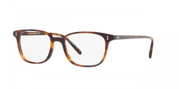 Oliver Peoples Maslon [OV5279U; Dark Mahogany]. Features simple yet refined design with a squared lens shape, hand-laid functional pins for double adherence between frame front and hinge, substantial three-barrel hinge for durability, and universal fitting nosepads for an enhanced fit. Handcrafted from layers of custom designed, exclusive acetate that results in the unique pattern of each individual frame with custom Oliver Peoples logo-engraved corewire reinforces integrity of the frame, allowing for long-lasting adjustments.