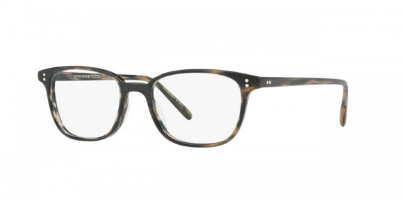 Oliver Peoples Maslon [OV5279U; Matte Blue Cocobolo]. Features simple yet refined design with a squared lens shape, hand-laid functional pins for double adherence between frame front and hinge, substantial three-barrel hinge for durability, and universal fitting nosepads for an enhanced fit. Handcrafted from layers of custom designed, exclusive acetate that results in the unique pattern of each individual frame with custom Oliver Peoples logo-engraved corewire reinforces integrity of the frame, allowing for long-lasting adjustments.