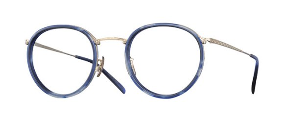 Oliver Peoples Waterston [OV1206TD; Blue/Silver]