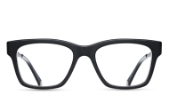 Matsuda - M2017 [Matte Black. Features the brand's classic combination of Japanese acetate and hand-lacquered engraved titanium temples. The Essential Optical Collection features new designs drawing upon classic Matsuda details of pure titanium, premium Japanese acetate, exquisite craftsmanship and impeccable attention to detail.