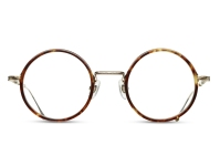 Matsuda - M3048 [Tokyo Tortoise/Brushed Gold]. Features hand-finished Japanese acetate and engraved titanium temples. The Essential Optical Collection features new designs drawing upon classic Matsuda details of pure titanium, premium Japanese acetate, exquisite craftsmanship and impeccable attention to detail.