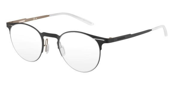 Carrera - CA6659 [Black/Bronze]. Features super thin frame developed to provide a lightweight experience for all-day comfort and a contemporary look. Part of the Maverick Collection for #OutThere characters, the design is centered around the iconic silhouette N.02, with a reversed curved bridge from the Original Boeing Carrera Collection. The 0.7 mm laser cut stainless steel frames are complemented with a laser etching logo on the temple.