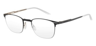 Carrera - CA6660 [Black]. Features super thin frame developed to provide a lightweight experience for all-day comfort and a contemporary look. Part of the Maverick Collection for #OutThere characters, the design is centered around the iconic silhouette N.02, with a reversed curved bridge from the Original Boeing Carrera Collection. The 0.7 mm laser cut stainless steel frames are complemented with a laser etching logo on the temple.