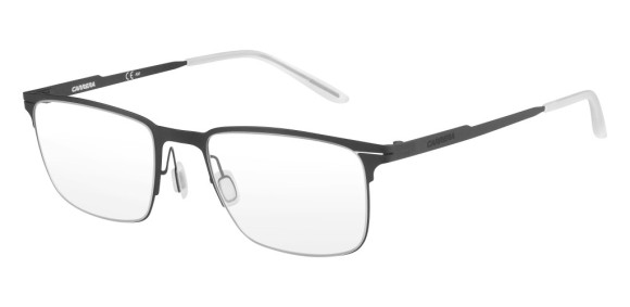 Carrera - CA6661 [Black]. Features super thin frame developed to provide a lightweight experience for all-day comfort and a contemporary look. Part of the Maverick Collection for #OutThere characters, the design is centered around the iconic silhouette N.02, with a reversed curved bridge from the Original Boeing Carrera Collection. The 0.7 mm laser cut stainless steel frames are complemented with a laser etching logo on the temple.