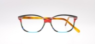 Wissing [2884/1335V/51]. Features curvaceous rectangular shape in orange-themed iconic stripe combination.