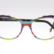 Wissing [2933RE/COL 1374RE50/35RE50]. Features unique frame cut with 3D details embossed, enlivened by iconic stripe combination.